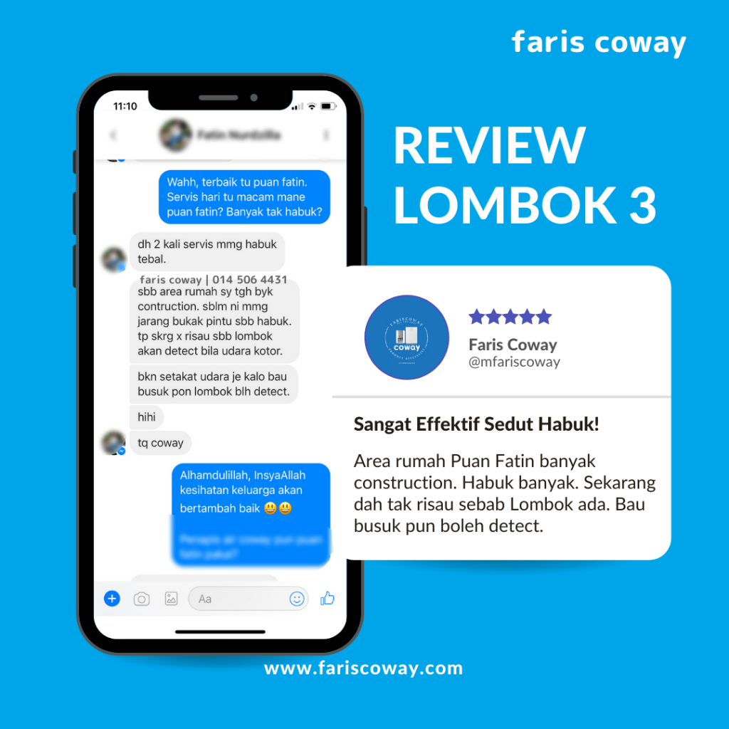 Coway lombok 3 review 2