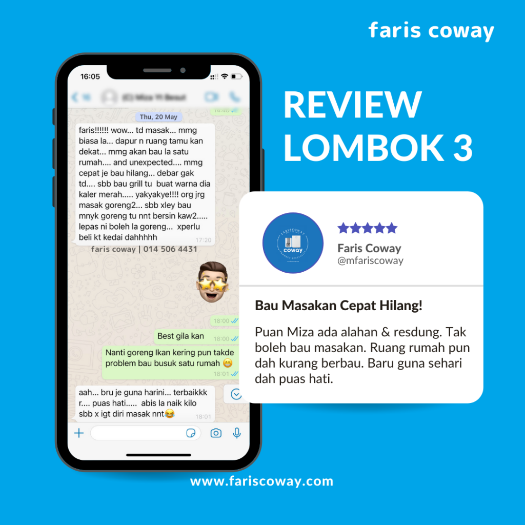 Coway lombok 3 review 3